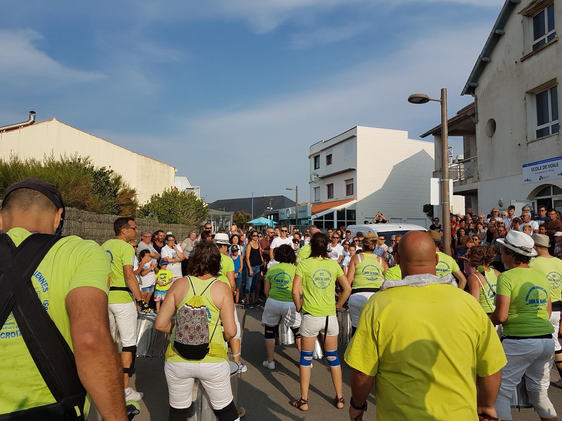 26/08/2019 - Hommage à Emmanuel Blanchet - Brétignolles sur Mer